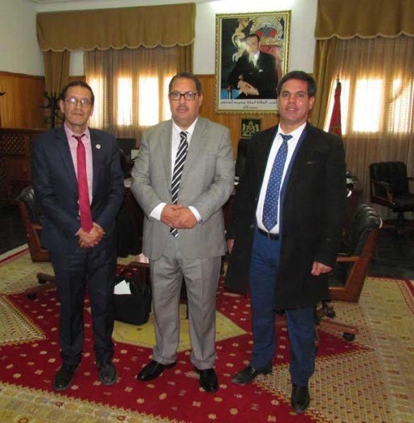 khouibaba,  Brahim Abouzid et Abdenabi Aidoudi